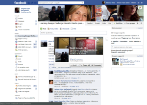Espacio de conversación en Facebook