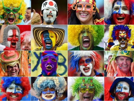 Brazil 2014: World Cup faces by Guimera, 2014 http://www.slideshare.net/guimera/brazil-2014-world-cup-faces